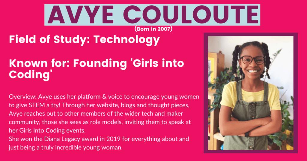 History + Future Women: Avye Couloute