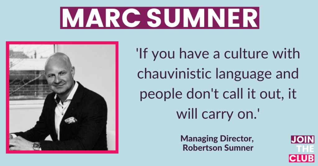 Join the Club: Marc Sumner